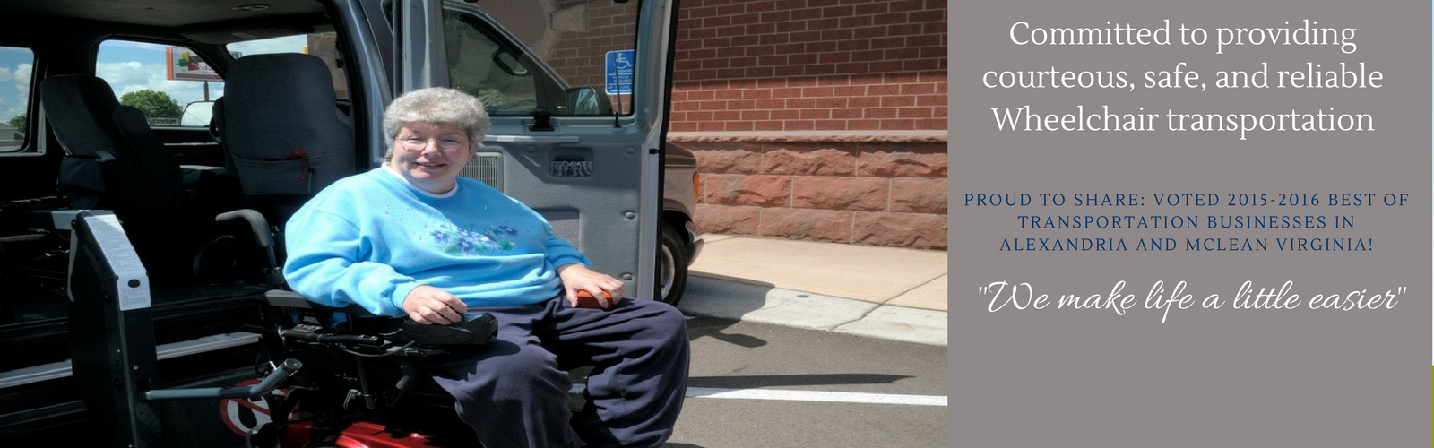 Wheelchair transportation Virginia