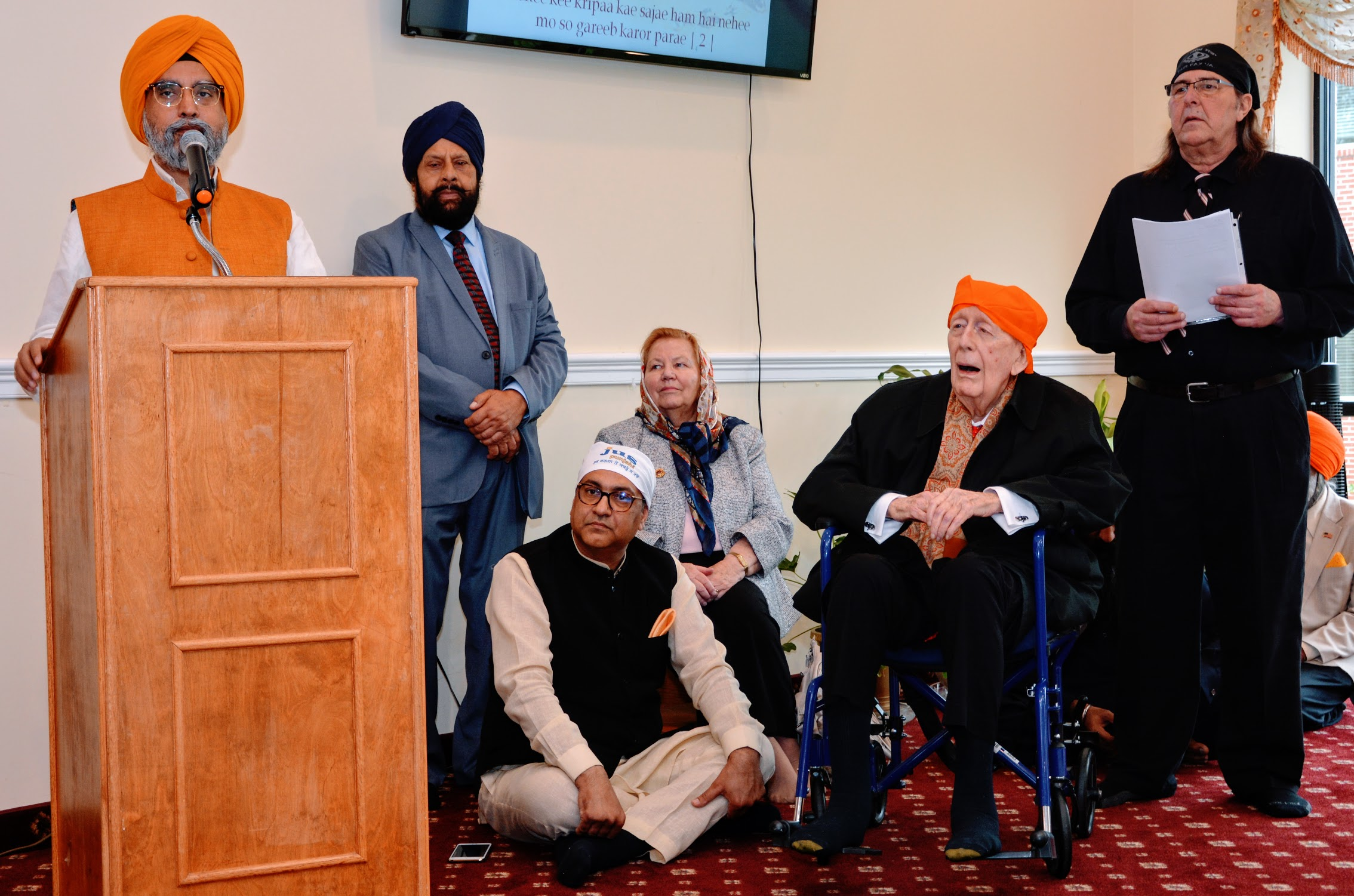 Ambassador Ceremony National Sikh Center Event